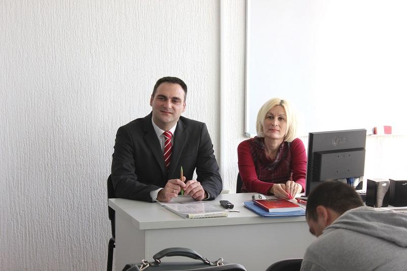 Predavači Nenad Srećkovic i Maja Dinić